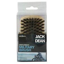 Denman Jack Dean Military Gentlemans Natural Bristle Grooming Mens Wooden Brush