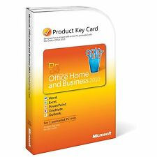Nuovo di Zecca Microsoft Office 2010 Home and Business KEY CARD