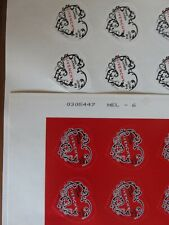 2007 8 timbres AUTOADHESIFS NEUFS** givenchy 102 / 103 PORT GRATUIT