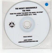 (FE836) The Hickey Underworld, The Frog - 2012 DJ CD