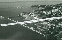 Friedrichshafen am Bodensee - Luftbild Hafen - um  1960                 S 13-3