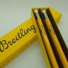 New Breitling Pencil With Eraser Yellow Boxed VIP Novelty Writing Instrument