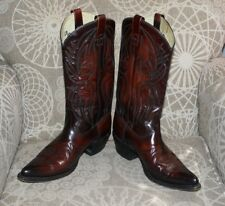 """Mens Texas """" Imperial"""" Cowboy / Western Boots Size 9.5 D"""