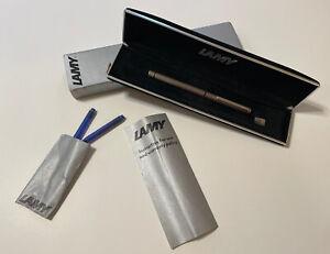 LAMY Vintage 1970's  cp1 Fountain Pen 925 Sterling Silver 14K M-nib / W-Germany