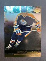 1999-00 Upper Deck Base Gold Reserve Parallel #3 Wayne Gretzky Edmonton Oilers