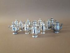 12 French  Silverplated vintage Teapot  Table Name ,place settings