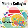 Marine Collagen Pure 600mg Natural And Healthy Diet Supplement x 60 Tablets