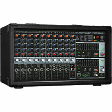 New Behringer PMP2000D 2000W Powered Mixer Buy it Now! Make Offer! Auth Dealer!