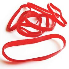 20 Large Heavy Duty Red Rubber Bands | Ever Wonder Why Some Bands . . .
