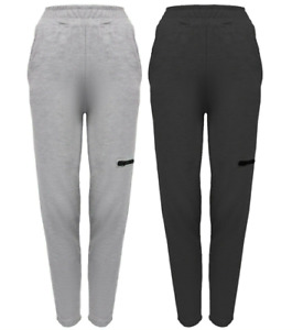 New UK Womens Ladies Cargo Style Jogging Joggers Tracksuit Bottoms Size 8-18
