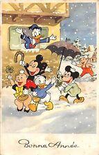 C44/ Brussells Belgium Japan Walt Disney Mickey Mouse Postcard Donald Duck 1959
