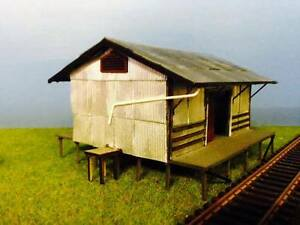 O scale 1/43.5   VR 30ft Goods shed