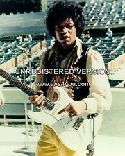 "Jimi Hendrix 10"" x 8"" Photograph no 25"