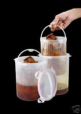 Trueware Pick to Dry Container with strainer for pasta, pickle +1800ml+BPA Free