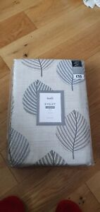 Dunelm Eyelet Curtains Pair W228cm x D182com - without packaging, unused