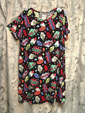 COMIC BOOK 100% COTTON NIGHT SLEEP SHIRT NIGHTIE NIGHTGOWN~2X~3X~20W~22W~24W~NEW