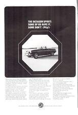 1965 MGB British Motor Corporation The Octagon Spirit PRINT AD