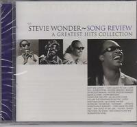 STEVIE WONDER - SONG REVIEW - A GREATEST HITS COLLECTION - CD - NEW