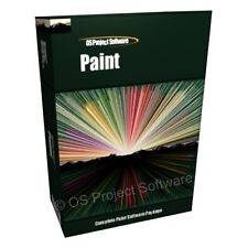 Paint Digital Painter Artist Art Draw Creation Creative Software Program CD-ROM