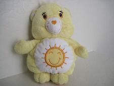 "10"" Care Bears ~ FUNSHINE BEAR MUSICAL BEAR FOR CRIB STROLLER Plush Stuffed"
