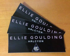 ELLIE GOULDING Stickers HALCYON Official Promo Stickers (3) - New in Mint
