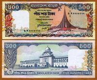 Bangladesh, 500 taka, ND (1998), P-34, UNC   W/H