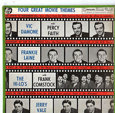 """Four Great Movie Themes - 7"""" Ep Inc. Jerry Vale"""
