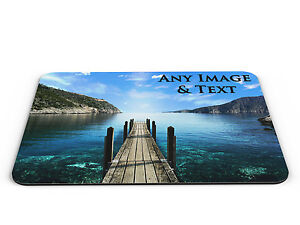 Personalised Computer PC Mousemat Any Picture & Text - Brand New