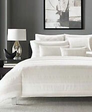 New NWOP Hotel Collection Radiant Duvet Cover Full/Queen Ivory