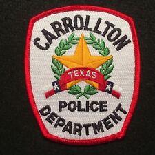 Texas - Carrollton Police Department Patch