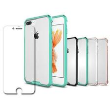 Shockproof Box Bumper Case + Glass Screen Protector For Iphone 7/7 Plus/8/8 Plus