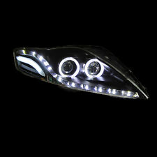 For FORD Mondeo 2007-2012 Fit LED Angel Eyes Foront Lamp LED Headlight Assembly