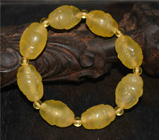 tibetan amber bracelet old tibet baltic natural prayer beads happy buddha statue
