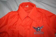 vtg 70s 80s chalkline Auburn university war eagles snap windbreaker jacket Small