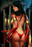 Vampirella 2 Virgin Variant by Jen Broomall Port City Comics