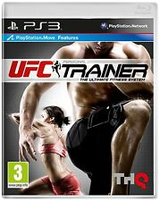 Ufc Personal Trainer-Move Compatible (ps3) Nuevo Sellado Con Leg Strap
