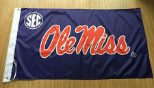 Ole Miss Rebels 3x5 Feet Banner Flag University Ncaa University Of Mississippi