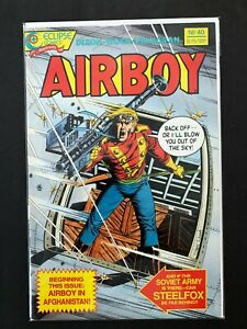AIRBOY #40 ECLIPSE COMICS 1987 NM+ (1986 SERIES)