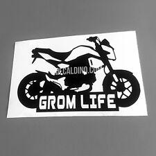 Grom Life V2 Decal - Sticker For Honda MSX125 graphics exhaust carbon fiber 19