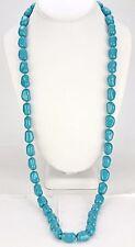 KENNETH JAY LANE-Turquoise Bead Necklace -123