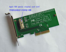 Adapter Card to PCI-E 4X for apple 2013 2014 2015 MacBook Air Pro Retina SSD