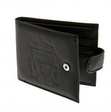 Liverpool F.C. Embossed Crest  Leather Wallet 805 Official Merchandise