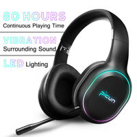 LED bluetooth Auriculares Inalambricos 80 Horas Para Nintendo Switch Xbox