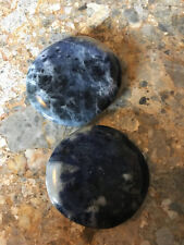 Sodalite Palmstone Stone of Truth, Good for Communication, Reiki Healing Crystal