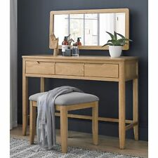 Moreton Oak Bedroom Furniture Dressing Table With Drawers