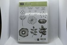 New Retired Oh So Eclectic Stampin Up Rubber Stamps - 143940
