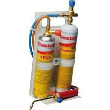 Castolin Kit saldatura saldatore ossigeno-gas + bombole 3000° Mod. FLEX 2000
