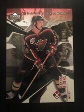 2003-04 Upper Deck Ruby Black Diamond Brent Burns Rookie Card #/50 NHL All Star