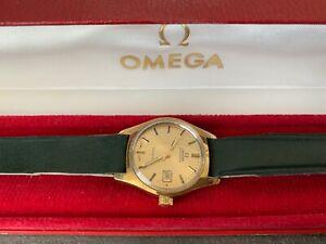 Omega Geneve Automatic Damen Datum  original Box Cal. 684 - Ref: 566.036 - Läuft