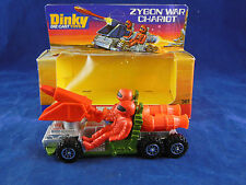 Vintage Dinky Toys 361 Zygon War Chariot (Galactic) with missles & Figures
